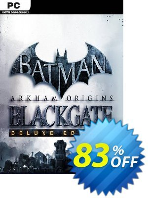 Batman: Arkham Origins Blackgate - Deluxe Edition PC discount coupon Batman: Arkham Origins Blackgate - Deluxe Edition PC Deal 2021 CDkeys - Batman: Arkham Origins Blackgate - Deluxe Edition PC Exclusive Sale offer for iVoicesoft