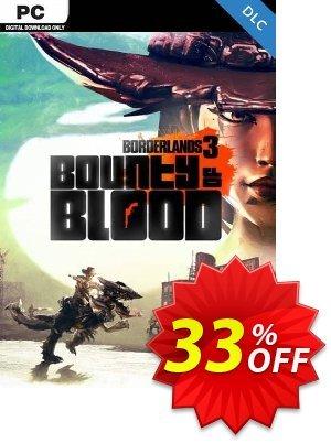 Borderlands 3: Bounty of Blood PC - DLC (Steam) (EU) discount coupon Borderlands 3: Bounty of Blood PC - DLC (Steam) (EU) Deal 2021 CDkeys - Borderlands 3: Bounty of Blood PC - DLC (Steam) (EU) Exclusive Sale offer for iVoicesoft