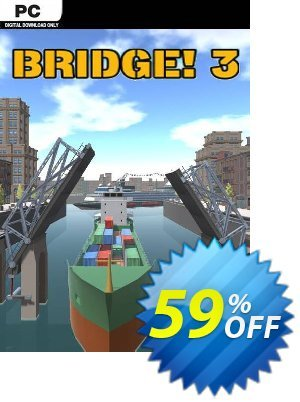 Bridge! 3 PC 優惠券,折扣碼 Bridge! 3 PC Deal 2021 CDkeys,促銷代碼: Bridge! 3 PC Exclusive Sale offer for iVoicesoft