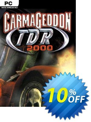 Carmageddon TDR 2000 PC discount coupon Carmageddon TDR 2000 PC Deal 2021 CDkeys - Carmageddon TDR 2000 PC Exclusive Sale offer for iVoicesoft