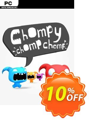 Chompy Chomp Chomp PC discount coupon Chompy Chomp Chomp PC Deal 2021 CDkeys - Chompy Chomp Chomp PC Exclusive Sale offer for iVoicesoft