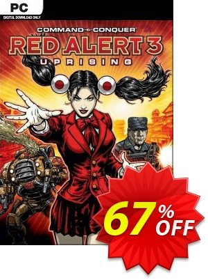 Command & Conquer Red Alert 3: Uprising PC discount coupon Command & Conquer Red Alert 3: Uprising PC Deal 2021 CDkeys - Command & Conquer Red Alert 3: Uprising PC Exclusive Sale offer for iVoicesoft