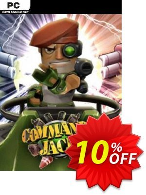 Commando Jack PC 優惠券,折扣碼 Commando Jack PC Deal 2021 CDkeys,促銷代碼: Commando Jack PC Exclusive Sale offer for iVoicesoft