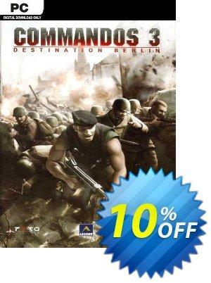 Commandos 3 Destination Berlin PC discount coupon Commandos 3 Destination Berlin PC Deal 2021 CDkeys - Commandos 3 Destination Berlin PC Exclusive Sale offer for iVoicesoft