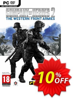 Company of Heroes 2 - The Western Front Armies PC discount coupon Company of Heroes 2 - The Western Front Armies PC Deal 2021 CDkeys - Company of Heroes 2 - The Western Front Armies PC Exclusive Sale offer for iVoicesoft