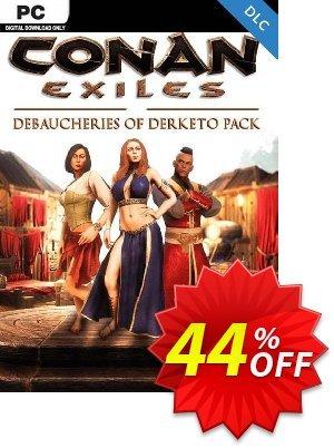 Conan Exiles - Debaucheries of Derketo Pack DLC discount coupon Conan Exiles - Debaucheries of Derketo Pack DLC Deal 2021 CDkeys - Conan Exiles - Debaucheries of Derketo Pack DLC Exclusive Sale offer for iVoicesoft