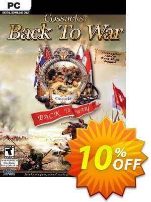 Cossacks Back to War PC discount coupon Cossacks Back to War PC Deal 2021 CDkeys - Cossacks Back to War PC Exclusive Sale offer for iVoicesoft