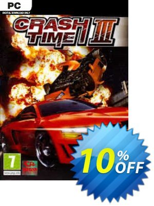 Crash Time 3 PC discount coupon Crash Time 3 PC Deal 2021 CDkeys - Crash Time 3 PC Exclusive Sale offer for iVoicesoft