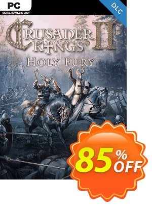 Crusader Kings II 2 PC: Holy Fury Expansion discount coupon Crusader Kings II 2 PC: Holy Fury Expansion Deal 2021 CDkeys - Crusader Kings II 2 PC: Holy Fury Expansion Exclusive Sale offer for iVoicesoft