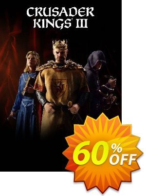 Crusader Kings III PC discount coupon Crusader Kings III PC Deal 2021 CDkeys - Crusader Kings III PC Exclusive Sale offer for iVoicesoft