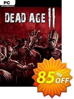 Dead Age 2 PC 優惠券,折扣碼 Dead Age 2 PC Deal 2021 CDkeys,促銷代碼: Dead Age 2 PC Exclusive Sale offer for iVoicesoft