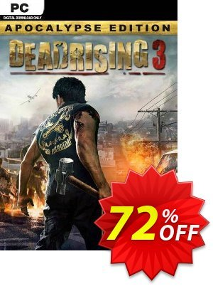 Dead Rising 3 - Apocalypse Edition PC discount coupon Dead Rising 3 - Apocalypse Edition PC Deal 2021 CDkeys - Dead Rising 3 - Apocalypse Edition PC Exclusive Sale offer for iVoicesoft