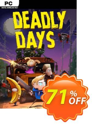 Deadly Days PC discount coupon Deadly Days PC Deal 2021 CDkeys - Deadly Days PC Exclusive Sale offer for iVoicesoft
