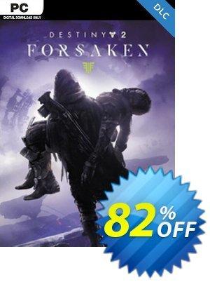 Destiny 2: Forsaken PC - DLC discount coupon Destiny 2: Forsaken PC - DLC Deal 2021 CDkeys - Destiny 2: Forsaken PC - DLC Exclusive Sale offer for iVoicesoft