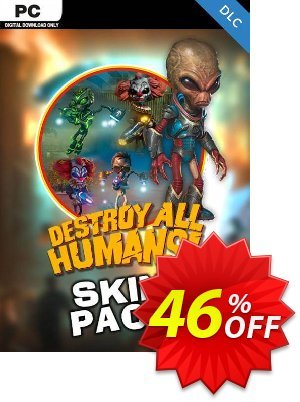 Destroy All Humans! Skin Pack PC - DLC discount coupon Destroy All Humans! Skin Pack PC - DLC Deal 2021 CDkeys - Destroy All Humans! Skin Pack PC - DLC Exclusive Sale offer for iVoicesoft