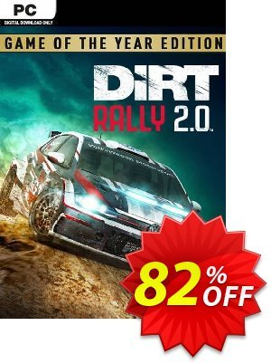 Dirt Rally 2.0 Game of the Year Edition PC discount coupon Dirt Rally 2.0 Game of the Year Edition PC Deal 2021 CDkeys - Dirt Rally 2.0 Game of the Year Edition PC Exclusive Sale offer for iVoicesoft