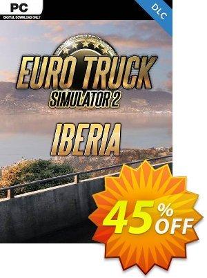 Euro Truck Simulator 2 PC - Iberia DLC discount coupon Euro Truck Simulator 2 PC - Iberia DLC Deal 2021 CDkeys - Euro Truck Simulator 2 PC - Iberia DLC Exclusive Sale offer for iVoicesoft