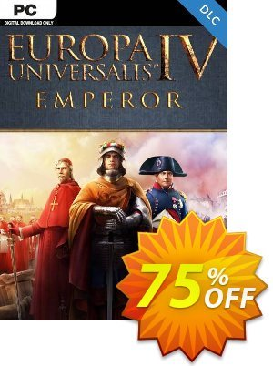 Europa Universalis IV 4 Emperor PC - DLC discount coupon Europa Universalis IV 4 Emperor PC - DLC Deal 2021 CDkeys - Europa Universalis IV 4 Emperor PC - DLC Exclusive Sale offer for iVoicesoft