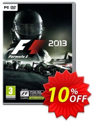 F1 2013 PC discount coupon F1 2013 PC Deal 2021 CDkeys - F1 2013 PC Exclusive Sale offer for iVoicesoft