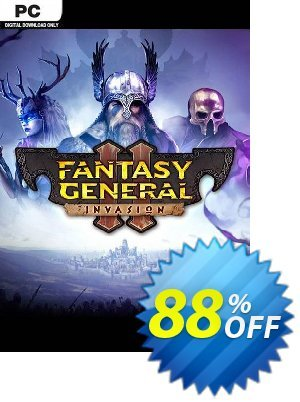 Fantasy General II 2 PC discount coupon Fantasy General II 2 PC Deal 2021 CDkeys - Fantasy General II 2 PC Exclusive Sale offer for iVoicesoft