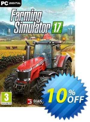 Farming Simulator 17 PC discount coupon Farming Simulator 17 PC Deal 2021 CDkeys - Farming Simulator 17 PC Exclusive Sale offer for iVoicesoft