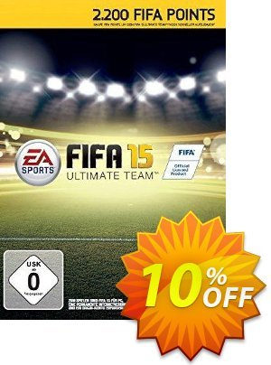 FIFA 15 2200 FUT Points PC discount coupon FIFA 15 2200 FUT Points PC Deal 2021 CDkeys - FIFA 15 2200 FUT Points PC Exclusive Sale offer for iVoicesoft