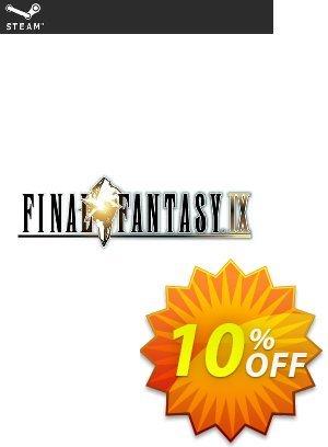 Final Fantasy IX 9 PC 優惠券,折扣碼 Final Fantasy IX 9 PC Deal 2021 CDkeys,促銷代碼: Final Fantasy IX 9 PC Exclusive Sale offer for iVoicesoft