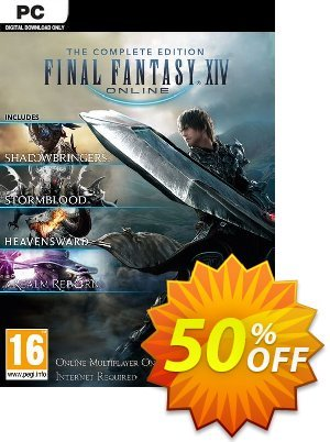 Final Fantasy XIV 14 Online Complete Edition Inc. Shadowbringers PC discount coupon Final Fantasy XIV 14 Online Complete Edition Inc. Shadowbringers PC Deal 2021 CDkeys - Final Fantasy XIV 14 Online Complete Edition Inc. Shadowbringers PC Exclusive Sale offer for iVoicesoft