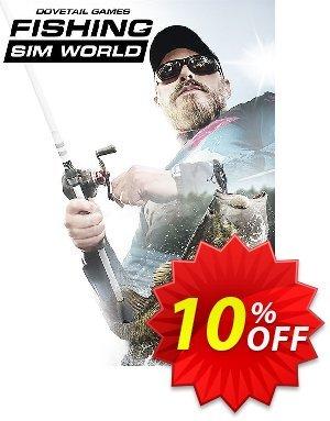 Fishing Sim World PC 優惠券,折扣碼 Fishing Sim World PC Deal 2021 CDkeys,促銷代碼: Fishing Sim World PC Exclusive Sale offer for iVoicesoft