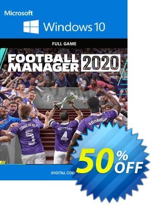 Football Manager 2020 PC - Windows 10 (UK) discount coupon Football Manager 2020 PC - Windows 10 (UK) Deal 2021 CDkeys - Football Manager 2020 PC - Windows 10 (UK) Exclusive Sale offer for iVoicesoft