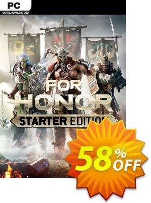 For Honor Starter Edition PC (EU) discount coupon For Honor Starter Edition PC (EU) Deal 2021 CDkeys - For Honor Starter Edition PC (EU) Exclusive Sale offer for iVoicesoft