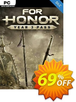 For Honor - Year 3 Pass PC - DLC (EU) 優惠券,折扣碼 For Honor - Year 3 Pass PC - DLC (EU) Deal 2021 CDkeys,促銷代碼: For Honor - Year 3 Pass PC - DLC (EU) Exclusive Sale offer for iVoicesoft
