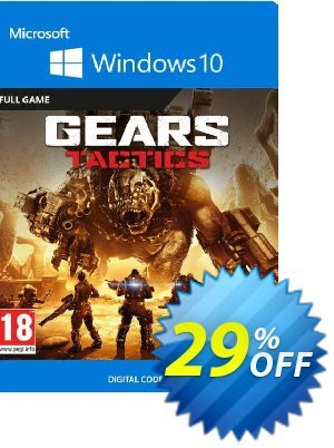 Gears Tactics - Windows 10 PC (UK) discount coupon Gears Tactics - Windows 10 PC (UK) Deal 2021 CDkeys - Gears Tactics - Windows 10 PC (UK) Exclusive Sale offer for iVoicesoft