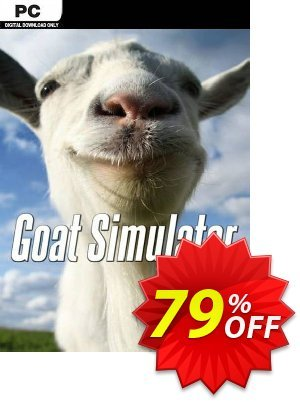 Goat Simulator PC 優惠券,折扣碼 Goat Simulator PC Deal 2021 CDkeys,促銷代碼: Goat Simulator PC Exclusive Sale offer for iVoicesoft