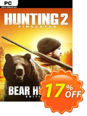 Hunting Simulator 2 Bear Hunter Edition PC discount coupon Hunting Simulator 2 Bear Hunter Edition PC Deal 2021 CDkeys - Hunting Simulator 2 Bear Hunter Edition PC Exclusive Sale offer for iVoicesoft