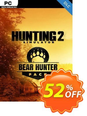 Hunting Simulator 2 Bear Hunter Pack PC-DLC discount coupon Hunting Simulator 2 Bear Hunter Pack PC-DLC Deal 2021 CDkeys - Hunting Simulator 2 Bear Hunter Pack PC-DLC Exclusive Sale offer for iVoicesoft