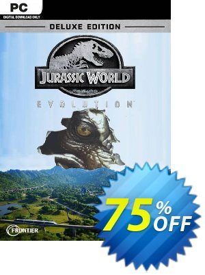 Jurassic World Evolution - Deluxe Edition PC discount coupon Jurassic World Evolution - Deluxe Edition PC Deal 2021 CDkeys - Jurassic World Evolution - Deluxe Edition PC Exclusive Sale offer for iVoicesoft