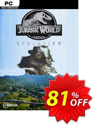 Jurassic World Evolution PC discount coupon Jurassic World Evolution PC Deal 2021 CDkeys - Jurassic World Evolution PC Exclusive Sale offer for iVoicesoft