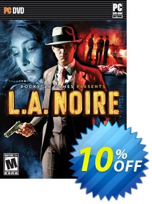 L.A. Noire Complete Edition PC discount coupon L.A. Noire Complete Edition PC Deal 2021 CDkeys - L.A. Noire Complete Edition PC Exclusive Sale offer for iVoicesoft