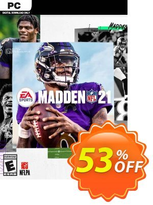 Madden NFL 21 PC discount coupon Madden NFL 21 PC Deal 2021 CDkeys - Madden NFL 21 PC Exclusive Sale offer for iVoicesoft
