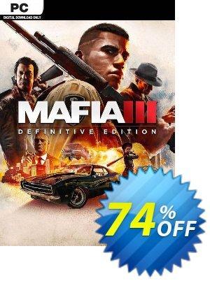 Mafia III - Definitive Edition PC (EU) discount coupon Mafia III - Definitive Edition PC (EU) Deal 2021 CDkeys - Mafia III - Definitive Edition PC (EU) Exclusive Sale offer for iVoicesoft