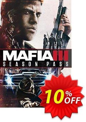 Mafia III 3: Season Pass PC (Global) discount coupon Mafia III 3: Season Pass PC (Global) Deal 2021 CDkeys - Mafia III 3: Season Pass PC (Global) Exclusive Sale offer for iVoicesoft