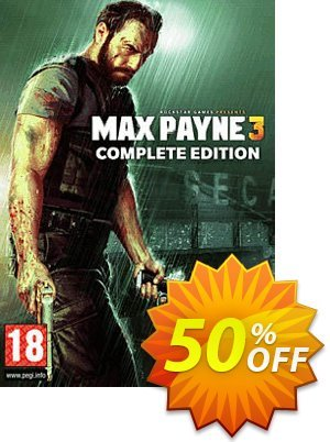 Max Payne 3 Complete Edition PC discount coupon Max Payne 3 Complete Edition PC Deal 2021 CDkeys - Max Payne 3 Complete Edition PC Exclusive Sale offer for iVoicesoft