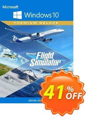 Microsoft Flight Simulator Premium Deluxe - Windows 10 PC Coupon discount Microsoft Flight Simulator Premium Deluxe - Windows 10 PC Deal 2021 CDkeys