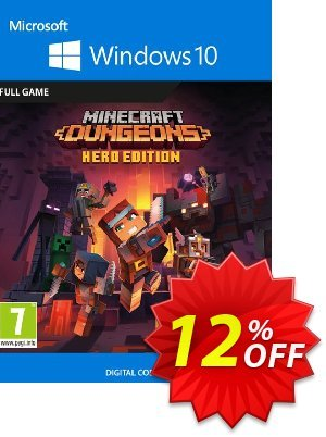 Minecraft Dungeons Hero Edition - Windows 10 PC discount coupon Minecraft Dungeons Hero Edition - Windows 10 PC Deal 2021 CDkeys - Minecraft Dungeons Hero Edition - Windows 10 PC Exclusive Sale offer for iVoicesoft