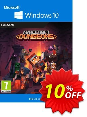 Minecraft Dungeons - Windows 10 PC discount coupon Minecraft Dungeons - Windows 10 PC Deal 2021 CDkeys - Minecraft Dungeons - Windows 10 PC Exclusive Sale offer for iVoicesoft