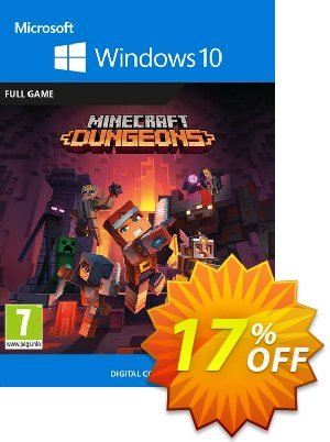 Minecraft Dungeons - Windows 10 PC (UK) discount coupon Minecraft Dungeons - Windows 10 PC (UK) Deal 2021 CDkeys - Minecraft Dungeons - Windows 10 PC (UK) Exclusive Sale offer for iVoicesoft