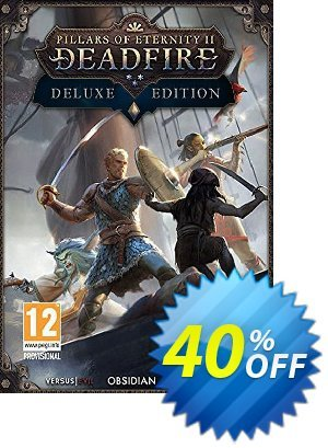 Pillars of Eternity II 2 Deadfire Deluxe Edition PC discount coupon Pillars of Eternity II 2 Deadfire Deluxe Edition PC Deal 2021 CDkeys - Pillars of Eternity II 2 Deadfire Deluxe Edition PC Exclusive Sale offer for iVoicesoft