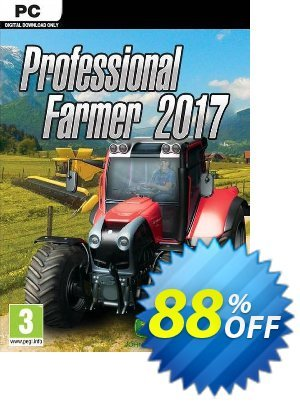 Professional Farmer 2017 PC discount coupon Professional Farmer 2017 PC Deal 2021 CDkeys - Professional Farmer 2017 PC Exclusive Sale offer for iVoicesoft