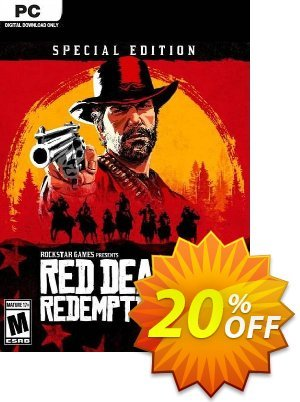 Red Dead Redemption 2 - Special Edition PC + DLC discount coupon Red Dead Redemption 2 - Special Edition PC + DLC Deal 2021 CDkeys - Red Dead Redemption 2 - Special Edition PC + DLC Exclusive Sale offer for iVoicesoft